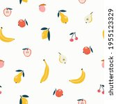 seamless pattern of different... | Shutterstock .eps vector #1955123329