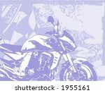 motorcycle grunge background... | Shutterstock .eps vector #1955161