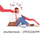 anxious businessman character...   Shutterstock .eps vector #1955226499
