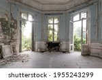 Abandoned Castle  Room With...