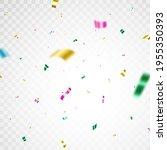 color confetti background.... | Shutterstock .eps vector #1955350393