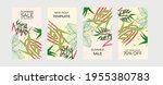 summer sale vector poster set...   Shutterstock .eps vector #1955380783