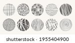 vector circle textures made... | Shutterstock .eps vector #1955404900