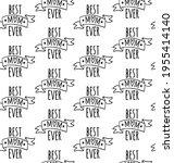 vector seamless pattern of hand ...   Shutterstock .eps vector #1955414140