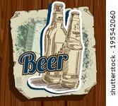 retro label | Shutterstock .eps vector #195542060