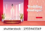 wedding boutique cartoon...   Shutterstock .eps vector #1955465569