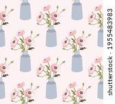 spring seamless pattern. boho... | Shutterstock .eps vector #1955483983