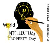 world intellectual property day ... | Shutterstock .eps vector #1955510593