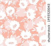 floral seamless with hand drawn ...   Shutterstock .eps vector #1955520043