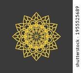 mandala graphic design template ...   Shutterstock .eps vector #1955525689