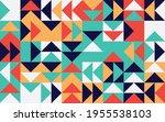 simple geometric vector pattern.... | Shutterstock .eps vector #1955538103