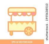 food stand icon vector design....
