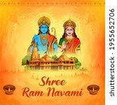 illustration of lord rama and...   Shutterstock .eps vector #1955652706