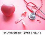 Red Ribbon Hiv  And Stethoscope ...