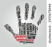 no violence against healthcare... | Shutterstock .eps vector #1955678446