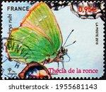 France   Circa 2010  A Stamp...