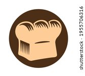 bread loaf graphics in the... | Shutterstock .eps vector #1955706316