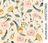 seamless vector pattern with... | Shutterstock .eps vector #1955727883