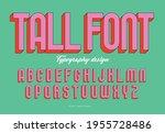 tall san serif typography... | Shutterstock .eps vector #1955728486