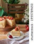 Napoleon Cake With Strawberries ...