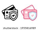 cartoon credit card icon vector ...
