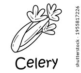 badge celery with the...   Shutterstock .eps vector #1955817226