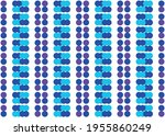 blue circles on a white...   Shutterstock .eps vector #1955860249