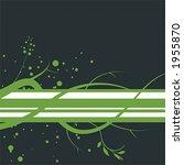 organic page design   vector | Shutterstock .eps vector #1955870