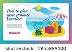 summer vacation illustration.... | Shutterstock .eps vector #1955889100