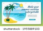 summer vacation concept.... | Shutterstock .eps vector #1955889103