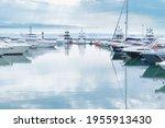 Marina With Yachts  Small...