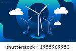 green hydrogen  an alternative...   Shutterstock .eps vector #1955969953