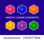 match 3 casual puzzle game...