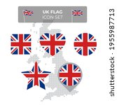 united kingdom  great britain... | Shutterstock .eps vector #1955987713