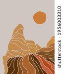 abstract landscape.... | Shutterstock .eps vector #1956003310