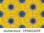 ethnic abstract fabric.... | Shutterstock .eps vector #1956022639