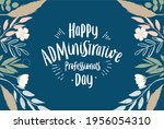 administrative professionals... | Shutterstock .eps vector #1956054310
