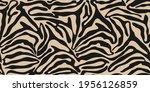 zebra seamless pattern in... | Shutterstock .eps vector #1956126859