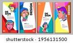 vector webinar banner template... | Shutterstock .eps vector #1956131500