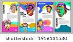 vector webinar banner template... | Shutterstock .eps vector #1956131530