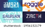 collection of stylish vector... | Shutterstock .eps vector #1956152179