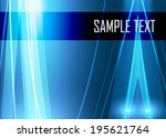 blue abstract background   Shutterstock .eps vector #195621764