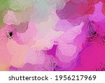 light pink  green vector... | Shutterstock .eps vector #1956217969