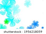 light blue  green vector... | Shutterstock .eps vector #1956218059