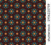 seamless vector pattern with... | Shutterstock .eps vector #1956220759