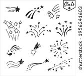 vector hand drawn set of design ... | Shutterstock .eps vector #1956241603