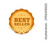 best seller shopping ribbon... | Shutterstock .eps vector #1956245023