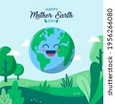 earth day. eco friendly concept.... | Shutterstock .eps vector #1956266080