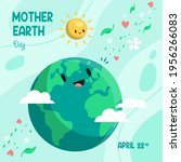 earth day. eco friendly concept....   Shutterstock .eps vector #1956266083