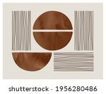 wall art watercolor design.... | Shutterstock .eps vector #1956280486